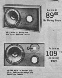 AR-2x+AR-2ax+vintage+speaker