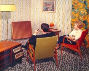 Quad ESL-57 hifi vintage advertisement speaker