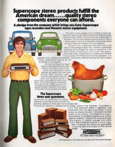 60ies 70ies hifi advertisement ads